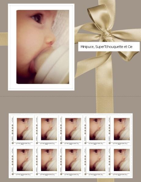 timbres cadeau