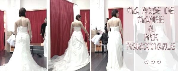 Pour mon mariage, je veux une robe de mariée pas chère…