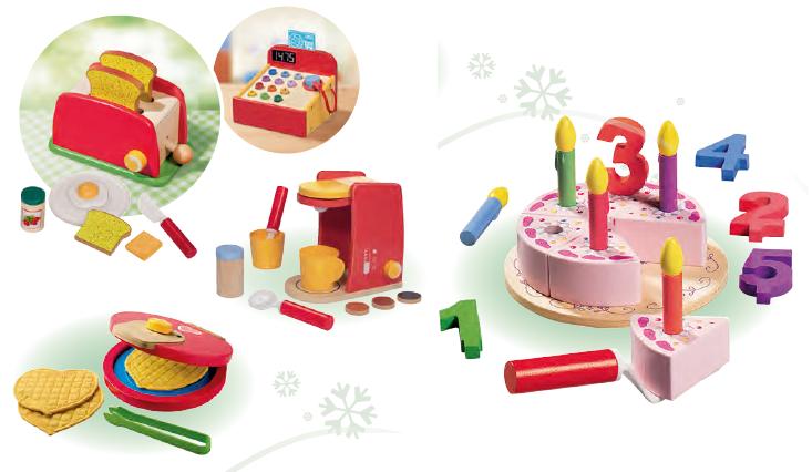 Des jouets en bois arrivent chez lidl pour no l mais for Cuisine en bois lidl