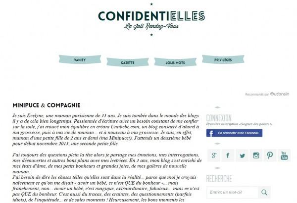 confidentielles