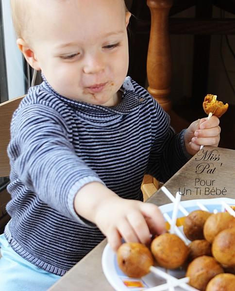 Popcakes carottes-pour-bebe