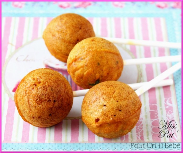 Popcakes carottes