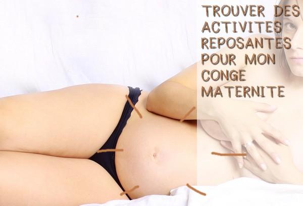 activites-reposantes-conge-maternite
