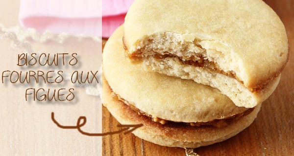 Biscuits fourrés aux figues pour les enfants {RECETTE}