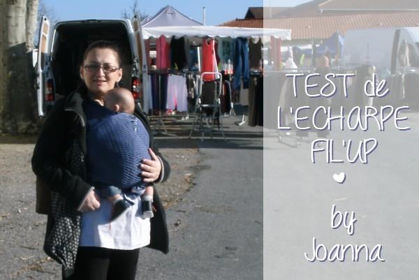 Joanna et son mari ont testé l'écharpe de portage Fil'Up {TEST & AVIS}