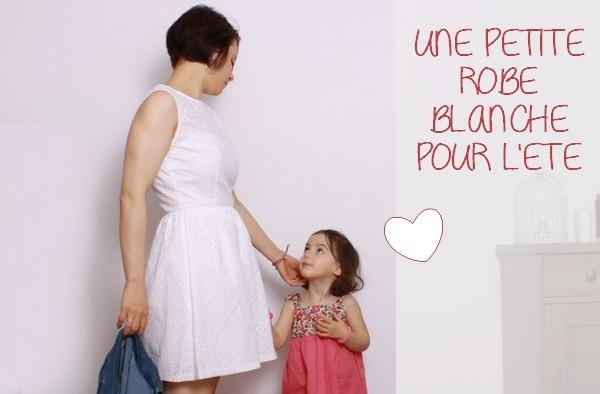 9fb5f98ef17c Ma petite robe blanche et ses accessoires pour l été  CADEAU DEDANS !