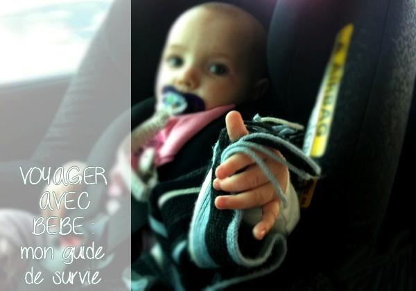 On va voyager avec bébé et un enfant : mon guide de survie !