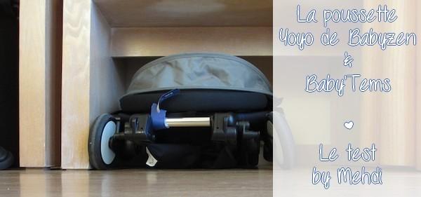 Louer une poussette Yoyo de Babyzen pour les vacances avec Baby'Tems, location de matériel pour bébé {TEST & AVIS}