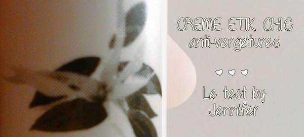 Une crème contre les vergetures : la crème magnificence d'Etik Chic {TEST &amp&#x3B; AVIS}