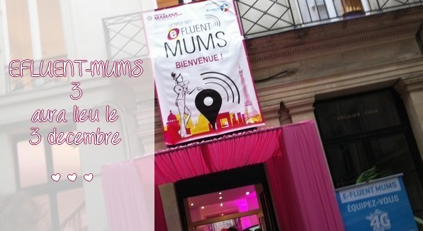 Le spot Efluent-Mums 3 : the place to be...