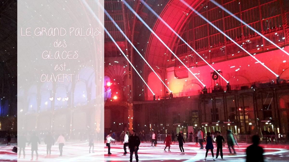 Le Grand Palais des Glaces ou la patinoire intérieure la plus grande au monde...