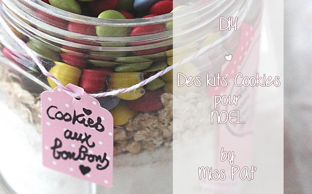 Des Kits à Cookies pour un DIY Gourmand de Noël
