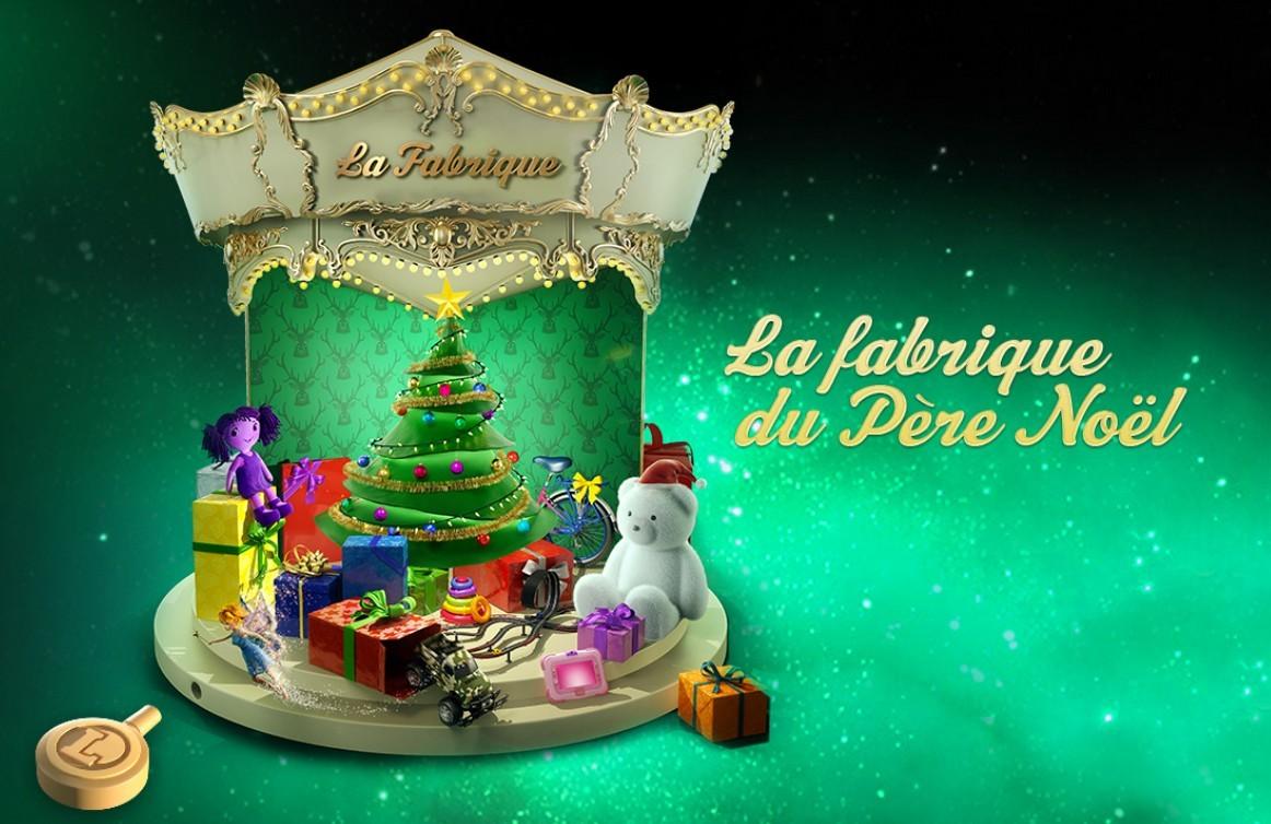 Venez visiter la fabrique du Père-Noël !
