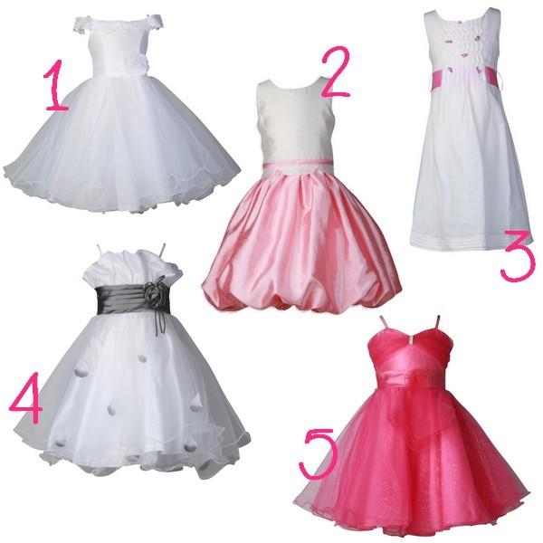 Les plus belle robe de petite fille