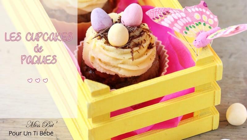 Des cupcakes pour Pâques ! {RECETTE}