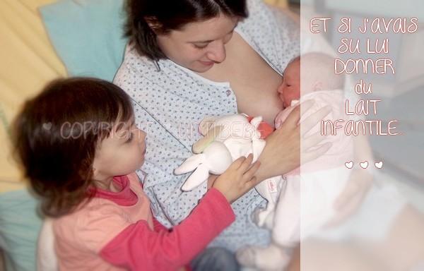Et si j'avais accepté de donner du lait infantile à ma fille au lieu de m'entêter à (mal) allaiter...