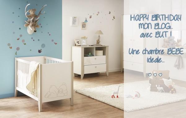 Les indispensables d'une chambre de bébé... Happy Birthday mon blog !... avec But {CADEAU !!!} #HappyB5
