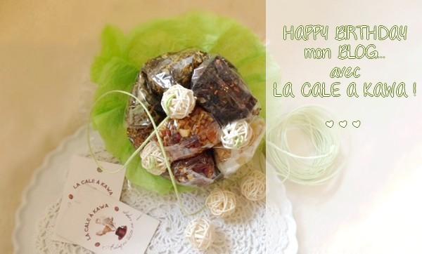 Happy Birthday mon blog !... avec La Cale à Kawa {CADEAU !!!} #HappyB5
