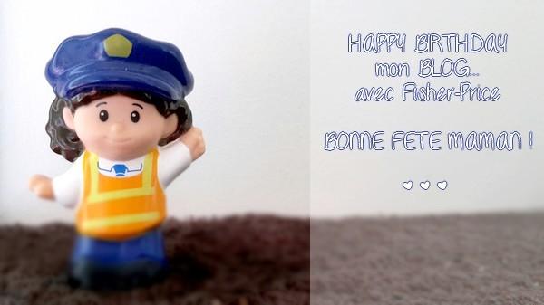 De jolis moments passés avec bébé... Happy Birthday mon blog !... avec Fisher-Price {CADEAU !!!} #HappyB5