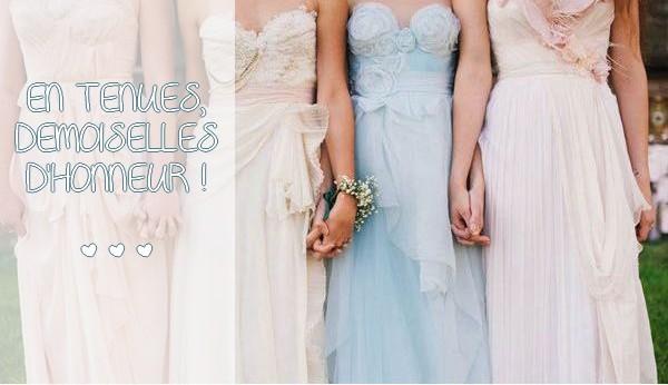 En tenues, demoiselles d'honneur !