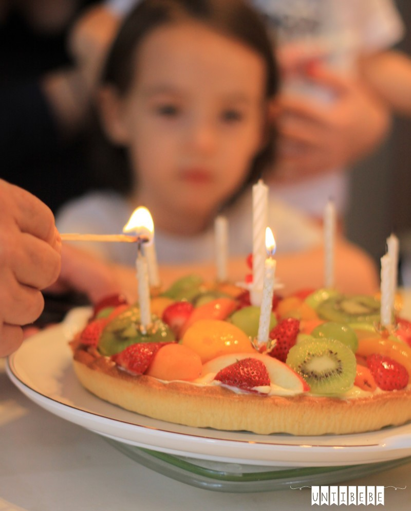 gateau fruits anniversaire