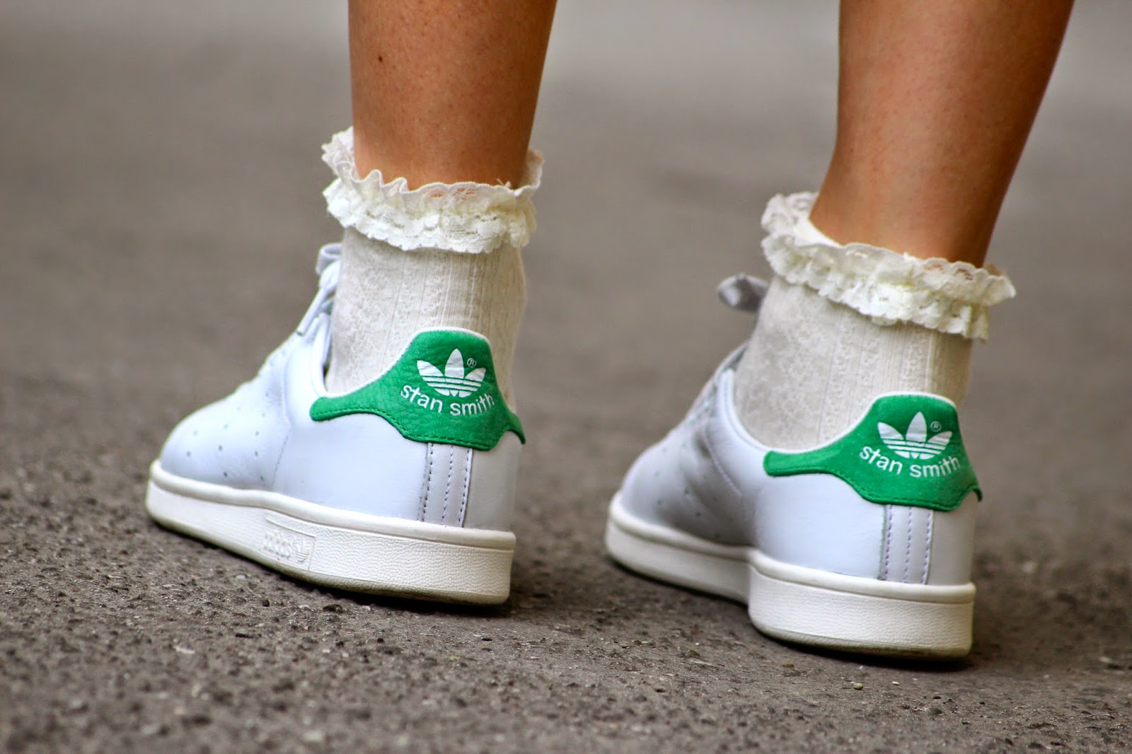 Adidas Stan Smith Porté