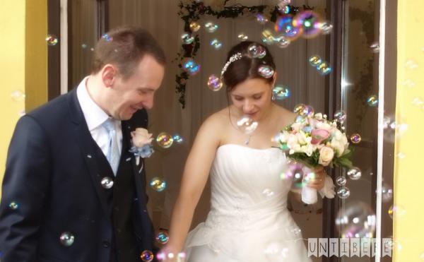 sortie ceremonie bulles de savon