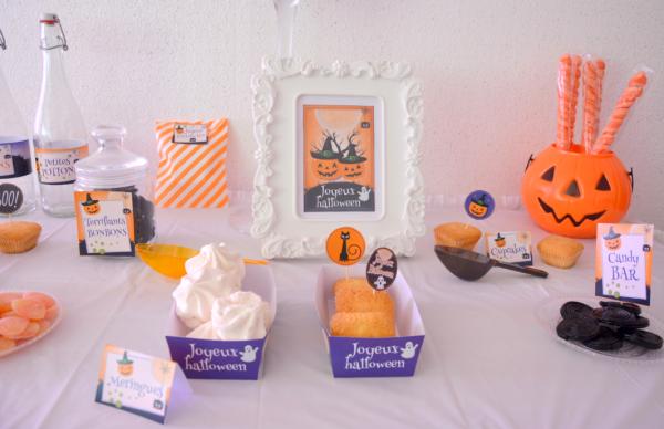 02 kit printable mybbshowershop halloween table sweet - Copie