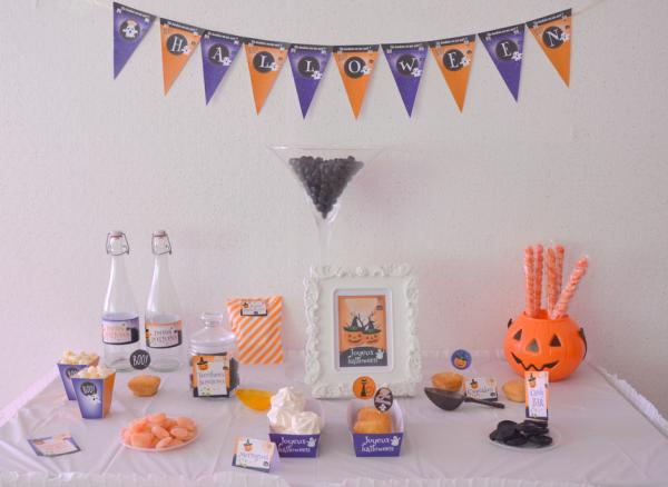 03 kit printable mybbshowershop halloween table sweet - Copie