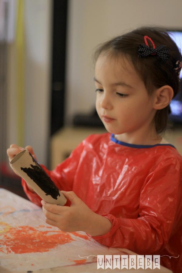 activite peinture enfant halloween