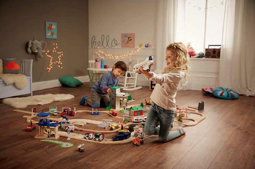 Des jouets en bois arrivent chez lidl pour no l mais - Cuisine en bois en jouet ...