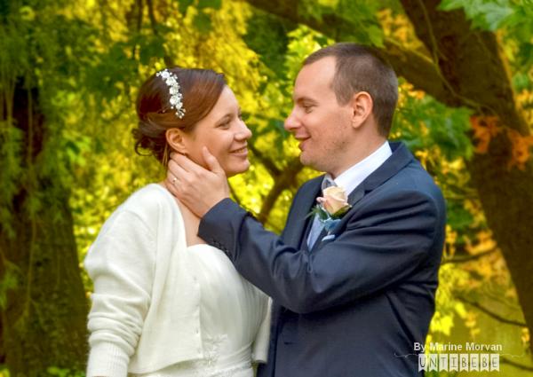 mariés automne