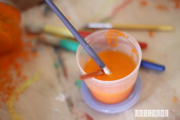 pot peinture halloween avent