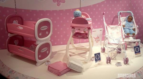 baby nurse jouets poupee lit poupon smoby