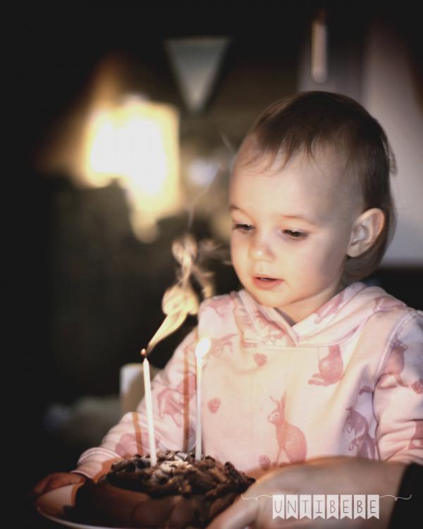 bebe souffle 2 ans bougies