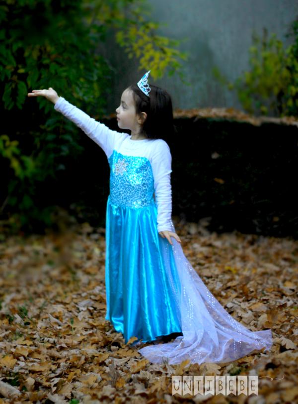 gracieuse reine des neiges