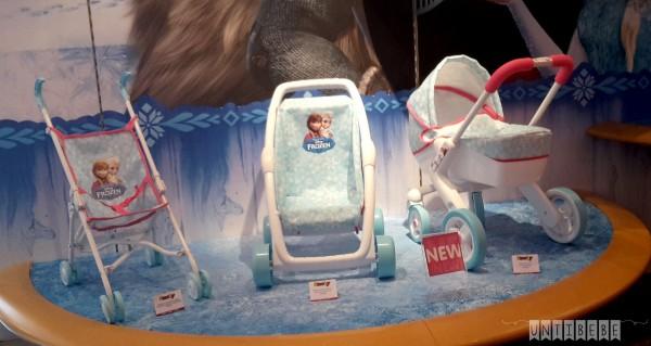poussettes jouet licence reine des neiges