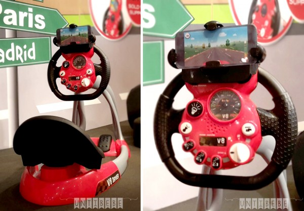 smoby voiture pedale volant smartphone