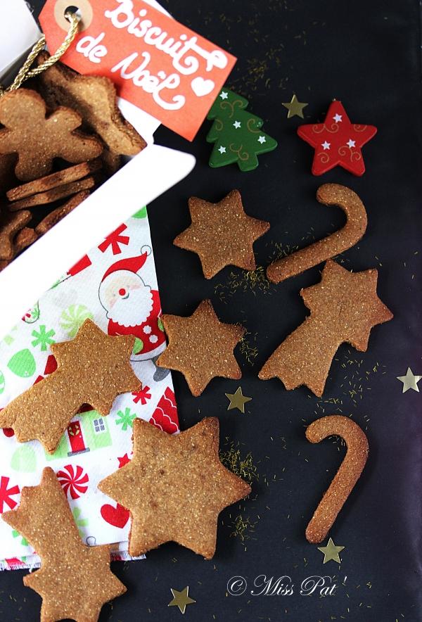 Biscuits de Noël 2 miss pat et untibebe