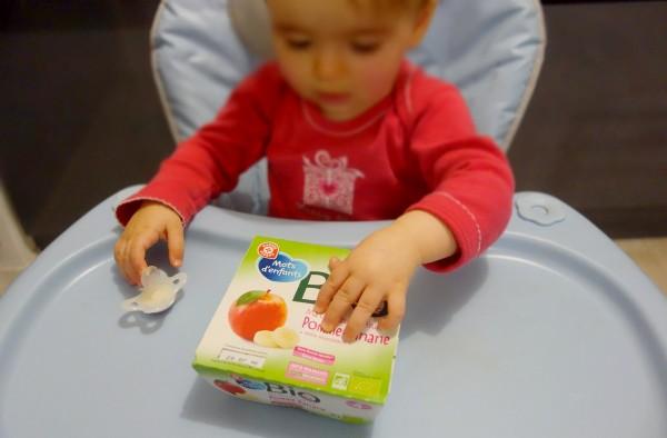 compote bebe marque repere qualite bio mot d'enfants