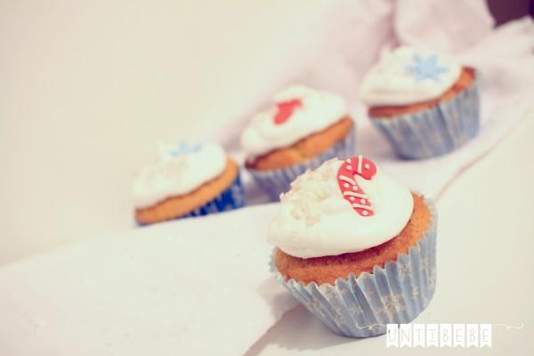 cupcake noel canne a sucre