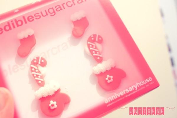 decoration gateau cupcake motifs sucre noel