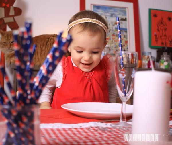 enfant repas noel