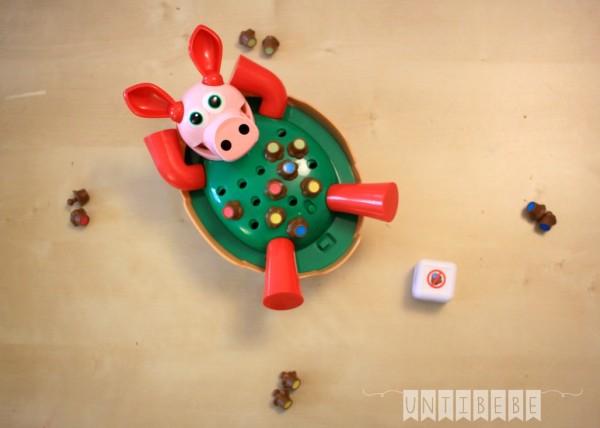 pieces jeu cochon qui rit dans son jabouzzi