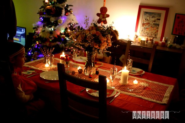 table de fete noel