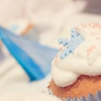 vignette cupcake reine des neiges anniversaire gateau