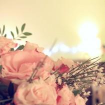 bouquet de fleur roses salon coocooning
