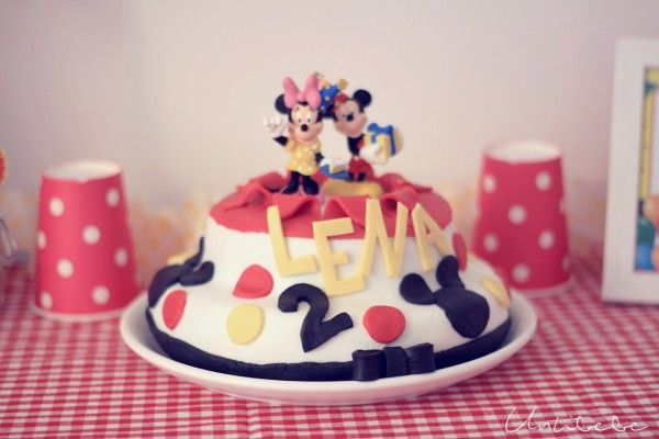 gateau anniversaire mickey minnie diy recette simple facile