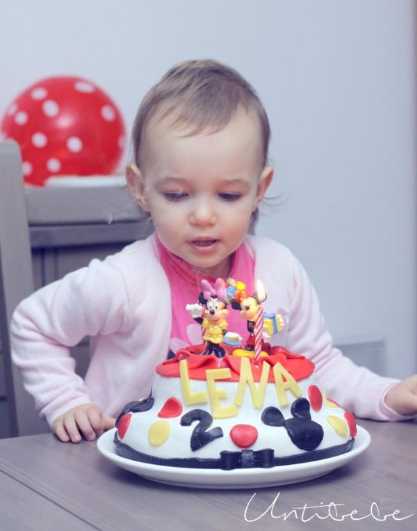 lena souffle ses bougies 2 ans