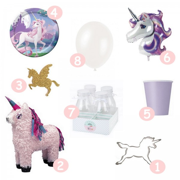 mes pr paratifs pour organiser un anniversaire licorne untibebe family. Black Bedroom Furniture Sets. Home Design Ideas
